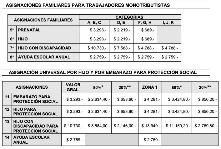 Cuánto se Cobra Por Cuna en Argentina