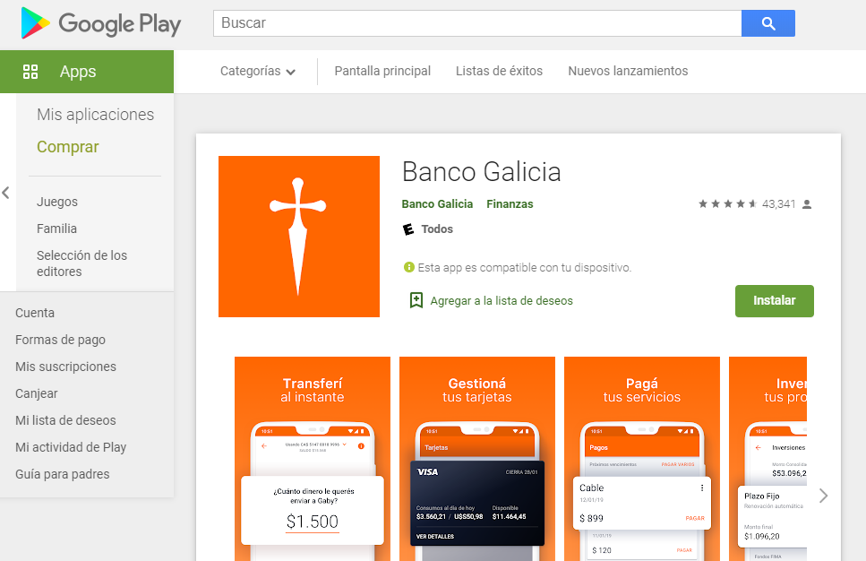 Como Hacer Home Banking Galicia