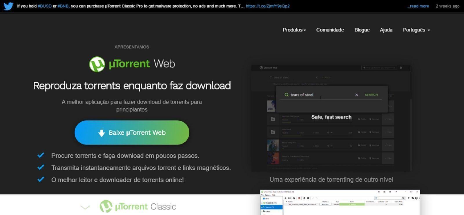 Como Usar Utorrent Web