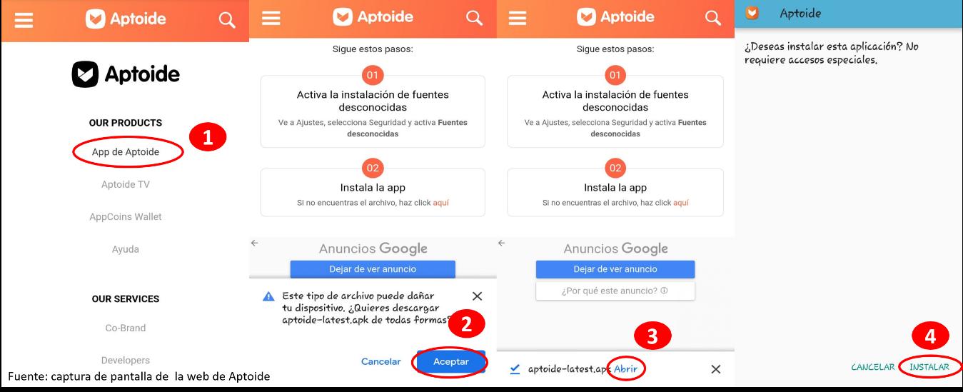 Como Descargar Aptoide