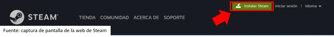 Como Descargar Steam
