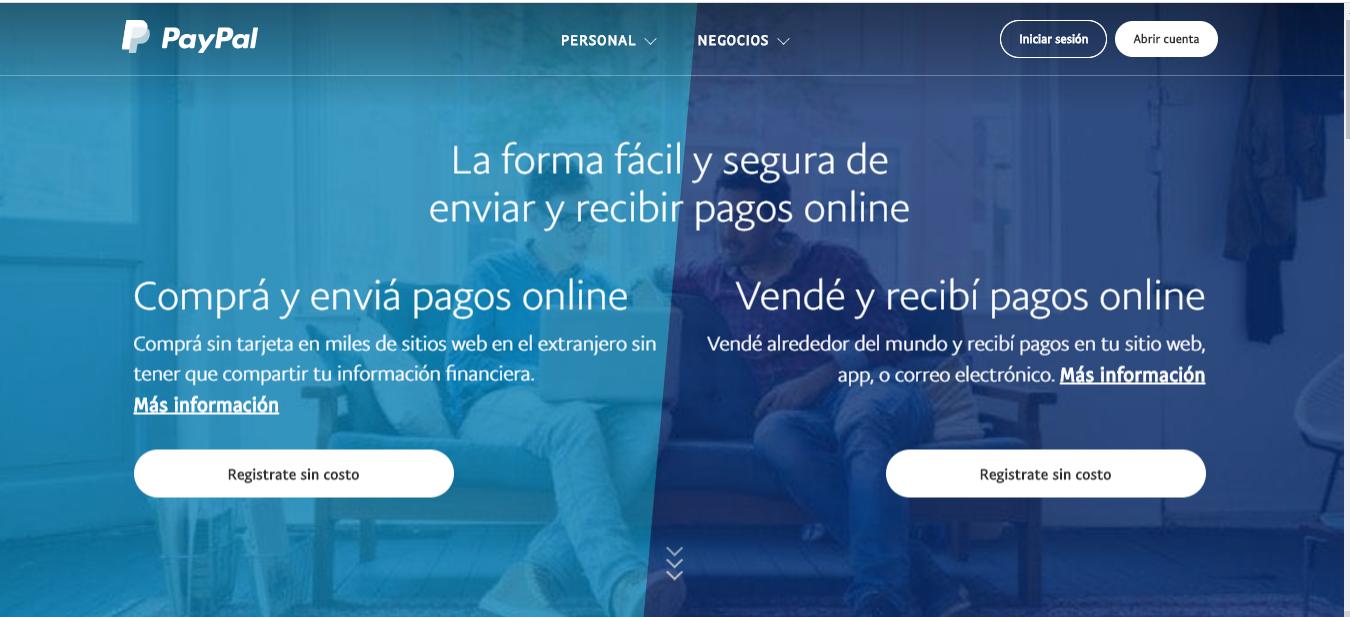 Como Crear Una Cuenta Paypal