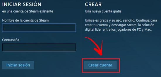 Como Crear Una Cuenta En Steam
